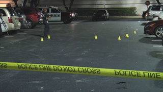 Man killed, child hurt outside Dave & Buster's in Hollywood