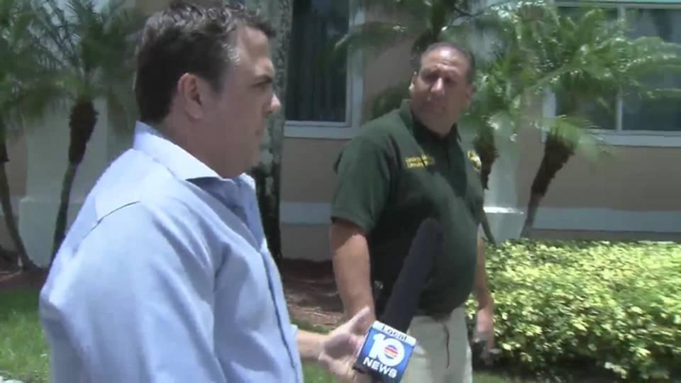 Bob Norman confronts Ira Goldberg