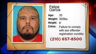 Convicted sex offender who last lived in Bexar County is wanted fugitive