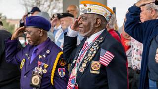 IMAGES: Annual Jacksonville Veterans Day Parade