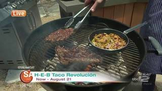 Part 2: Taco competition with H-E-B's Chef Scott and Chef Charlotte