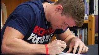 Grayson Overstreet signs letter of intent with University of Richmond