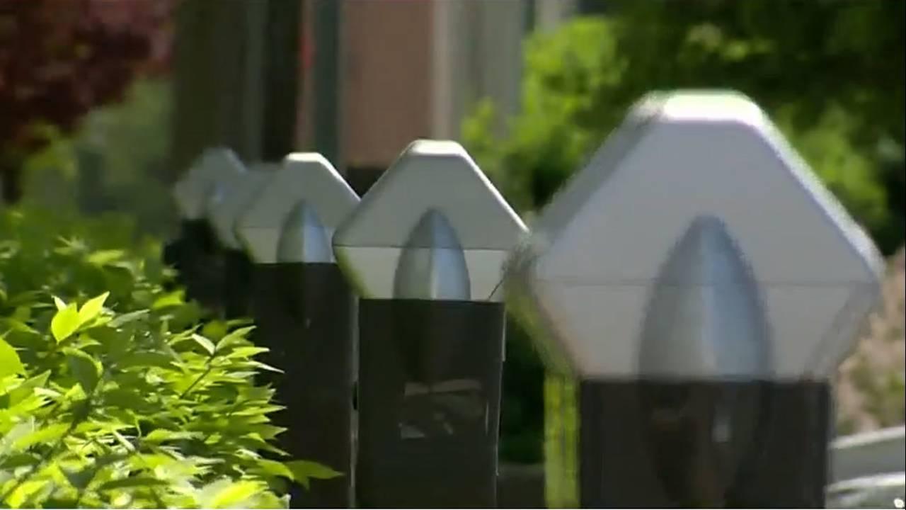 Parking meters Royal Oak