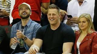 Celebs light up Rockets-Warriors Game 5, from Justin Timberlake to JJ Watt