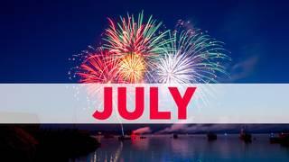 July birthday photos