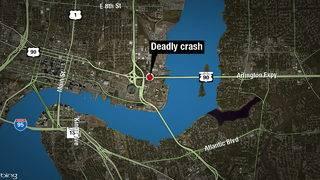 FHP investigates deadly crash on Mathews Bridge