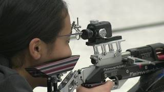 High school students compete at 2017 Navy Air Rifle State Championship