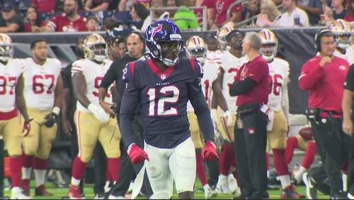 Bruce Ellington expresses excitement about playing with Texans, Deshaun Watson