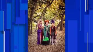 Models portray 'Hocus Pocus' actors in San Antonio photoshoot