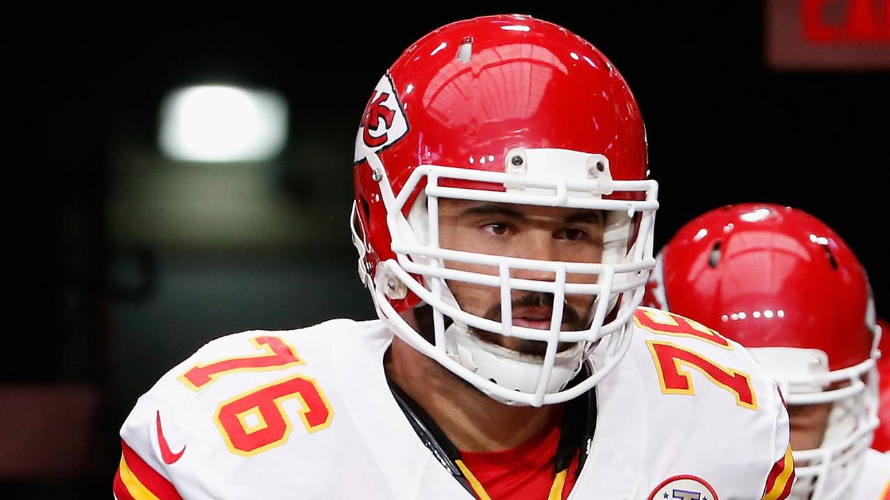 4a11930726e Report: NFL says no to 'M.D.' on Chiefs lineman's jersey