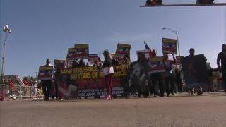 People gather for parades in South Florida to honor Dr. Martin Luther King Jr.
