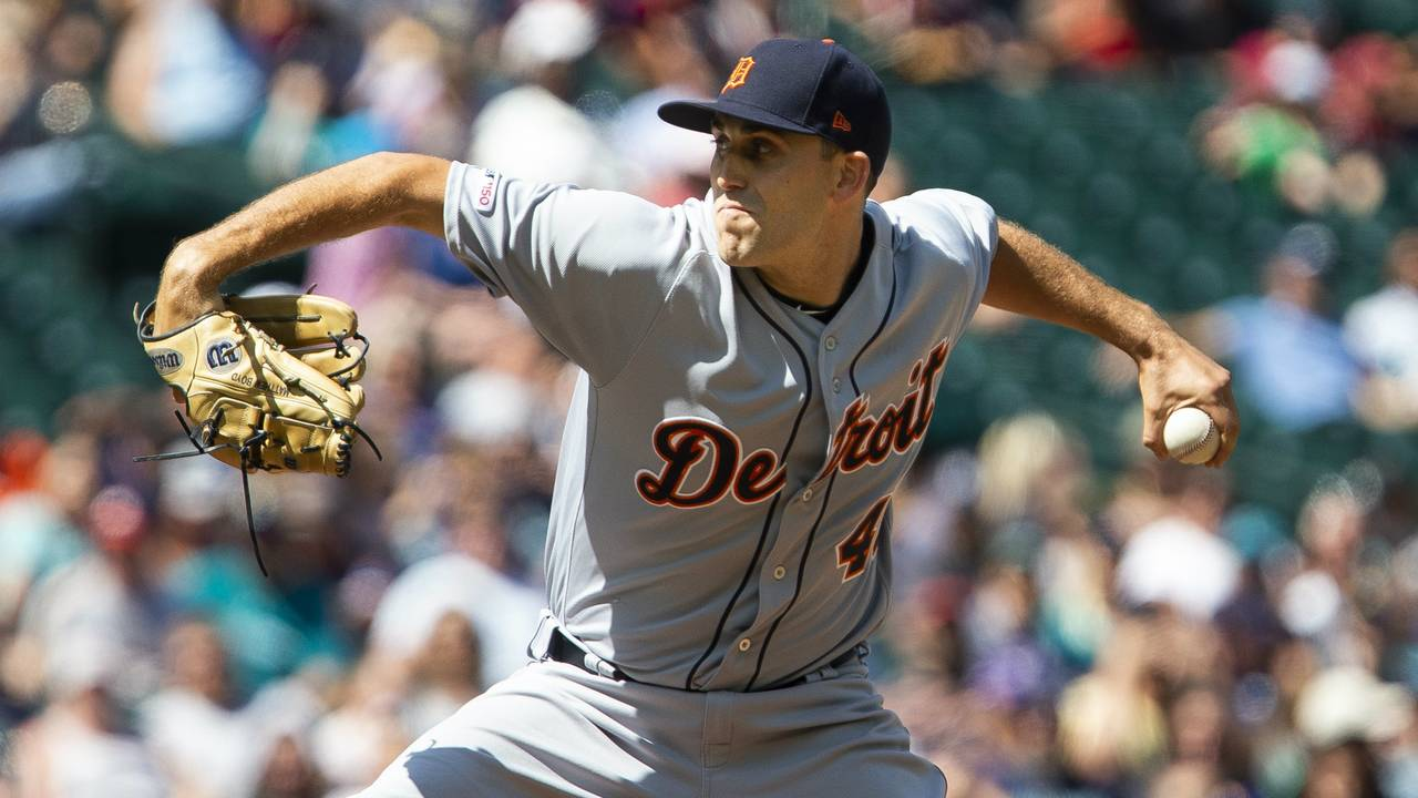 Matt Boyd Detroit Tigers vs Mariners 2019