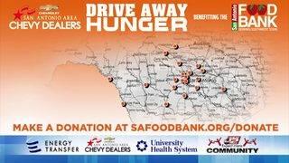 KSAT Community Drive Away Hunger Food Drive