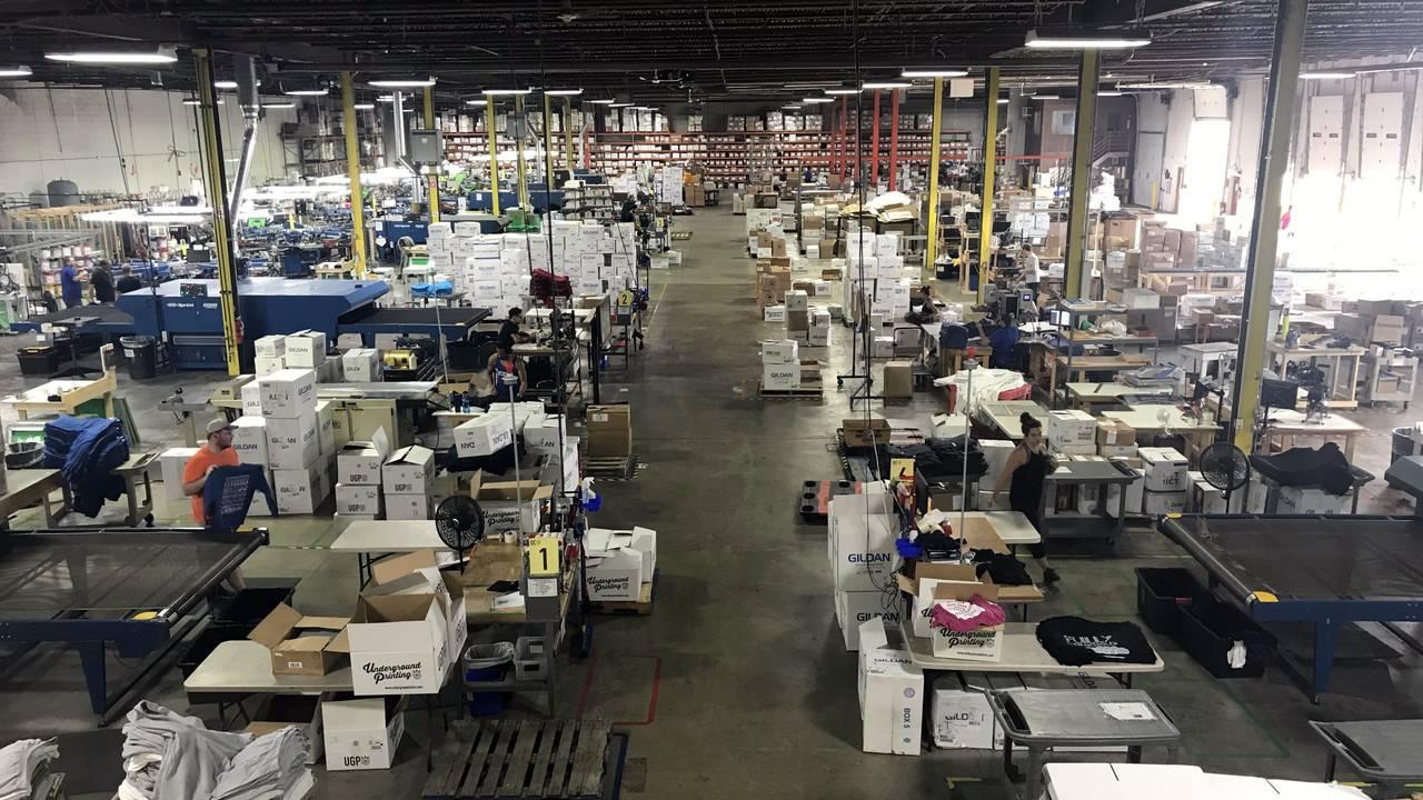 UGP production facility