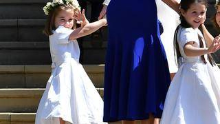 Princess Charlotte Has Clearly Perfected Her Royal Wave