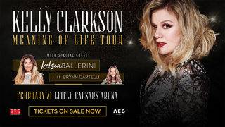 Kelly Clarkson Ticket Giveaway