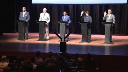 5 Houston mayoral candidates take part in debate