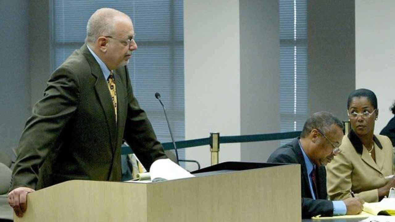 Peter Antonacci during Miriam Oliphant hearing in 2004