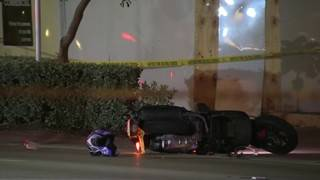 Woman riding scooter dies after crash in South Beach