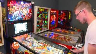 Play pinball and drink freshly roasted coffee in one place!