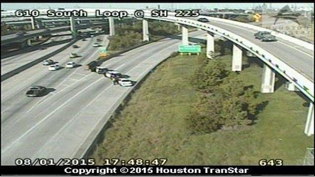 Person killed after 2-vehicle accident on ramp at 610 South