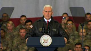 Pence leaves for Middle East as government shutdown looms