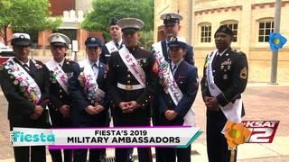 Fiesta Faces: Fiesta's 2019 Military Ambassadors