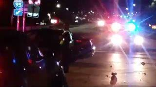 3 hit by car while changing tire in Mandarin