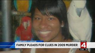 Family pleads for clues in 2009 murder