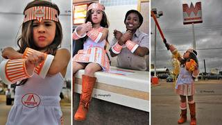 WHAT-A-GIRL: 3-year-old puts Texas twist on Wonder Woman costume