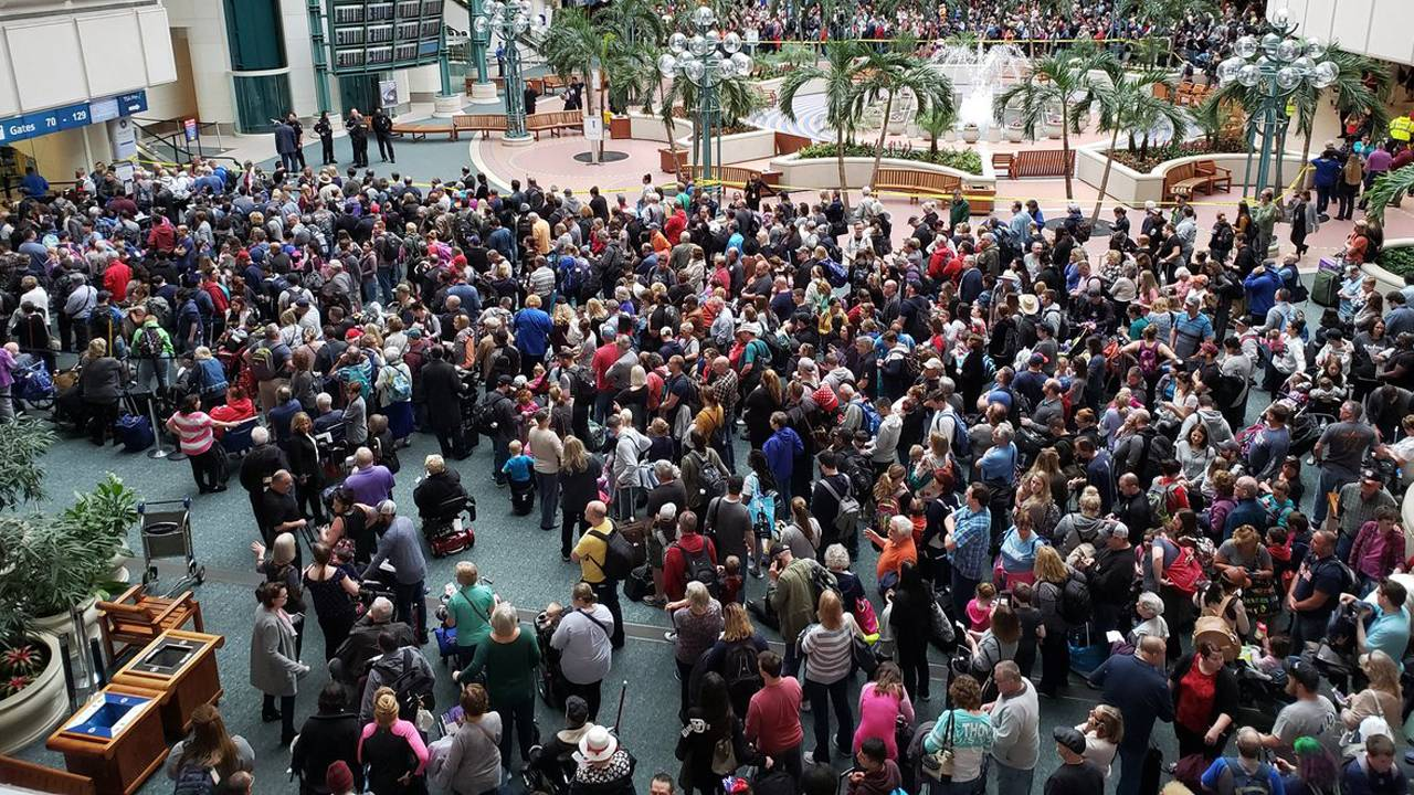 Tsa Officer Commits Suicide Grounding Flights At Orlando
