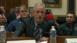 Jon Stewart responds to Mitch McConnell over 9/11 victim fund