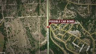 Multiple agencies investigating possible car bomb in Spring Branch