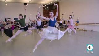 The Houston Ballet prepares for the world premiere of 'Sylvia'