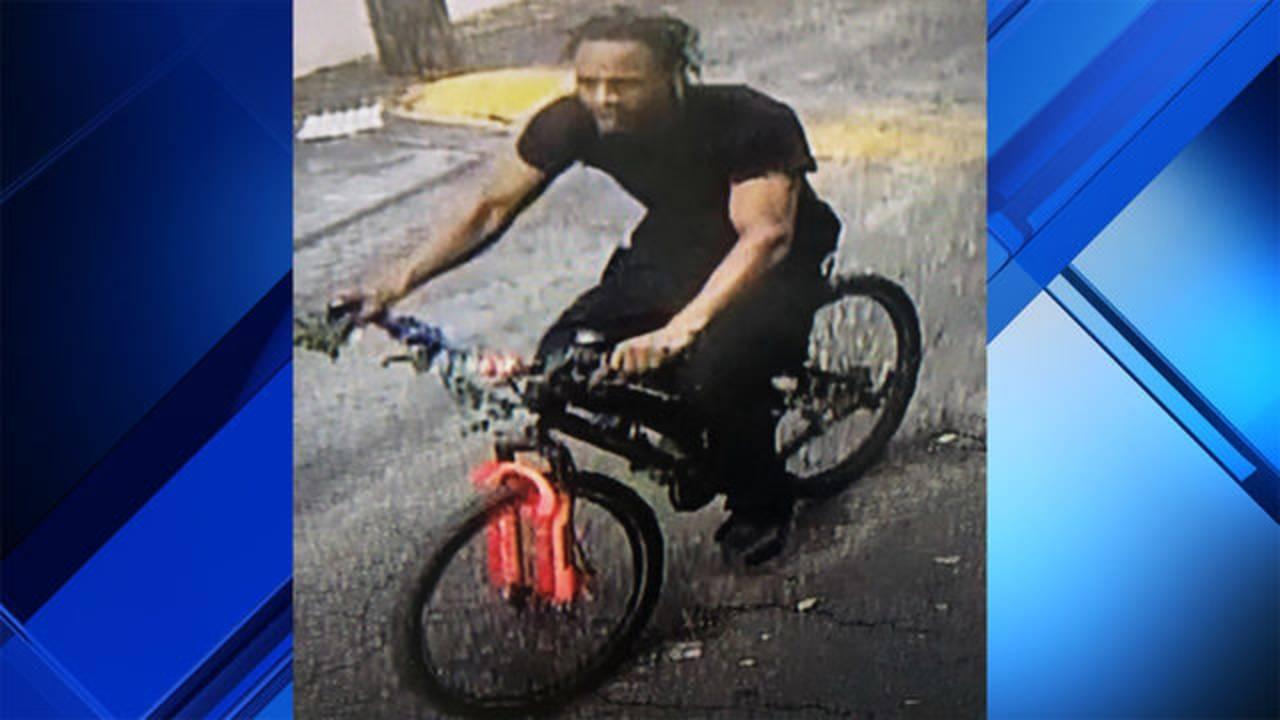 Hialeah bank robber on bike