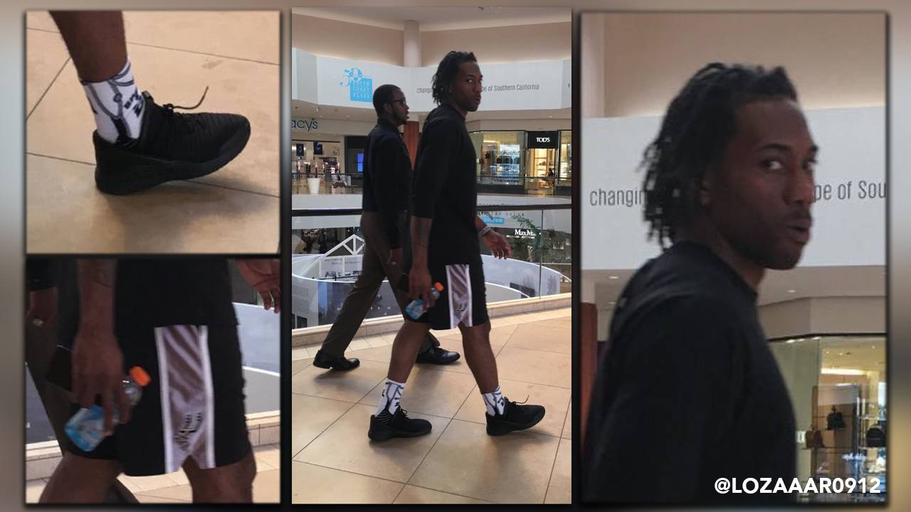 62c1fc5ec76 Spurs fans are loving this photo of Kawhi Leonard wearing...