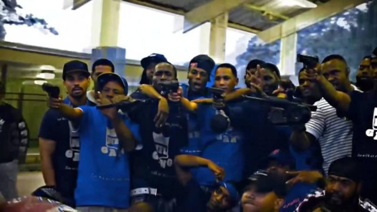 gang rap video houston guns charges