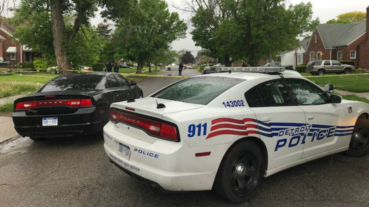 Man and woman killed College Street Detroit's east side 2
