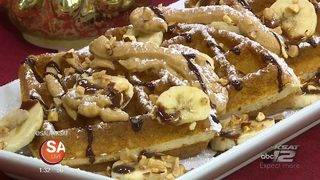 Cheesecake Factory recipe: Peanut Butter Banana Waffles
