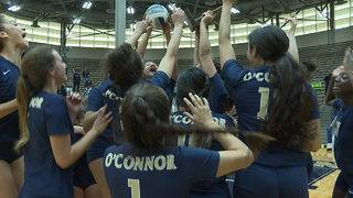 O'Connor Panthers return to State Volleyball Tournament