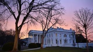 Car intentionally hits security barrier near White House