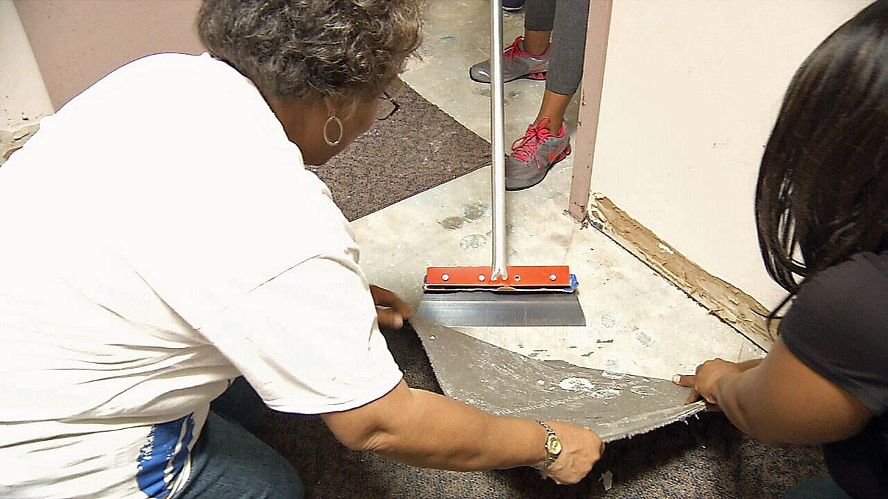 Day of Service volunteers
