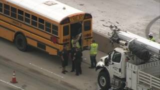 29 people hospitalized after Navasota ISD buses involved in crash