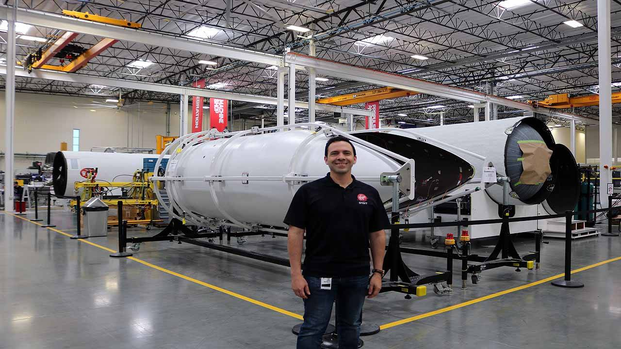 Maurico Pena Virgin Orbit 2