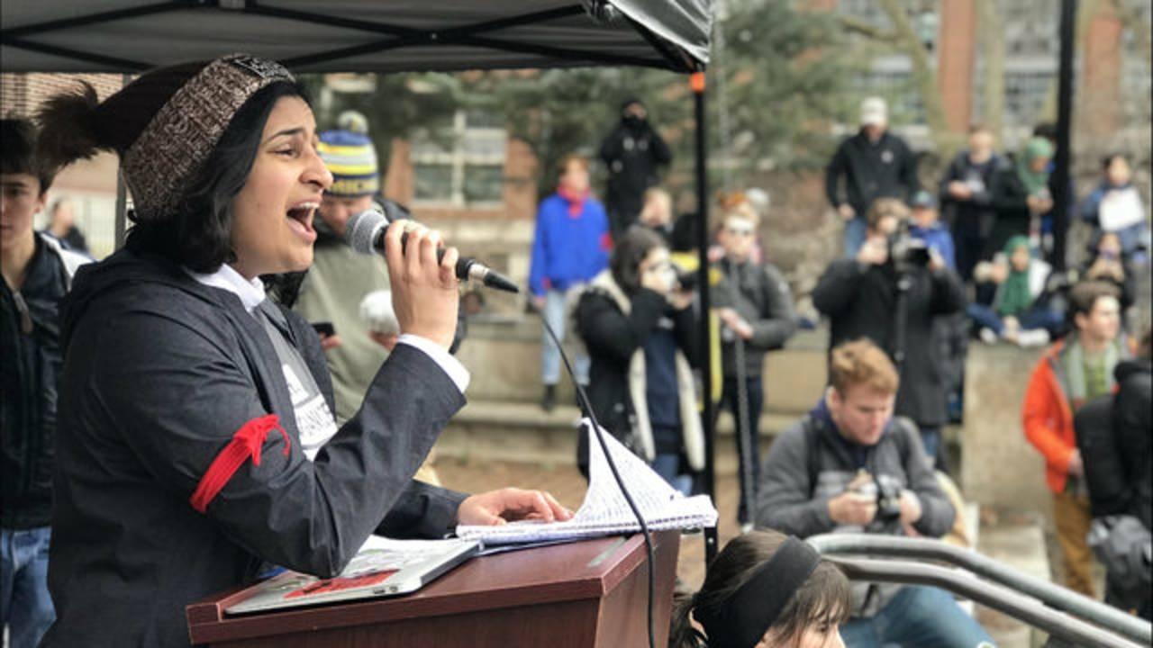 Khokhar speaker climate strike