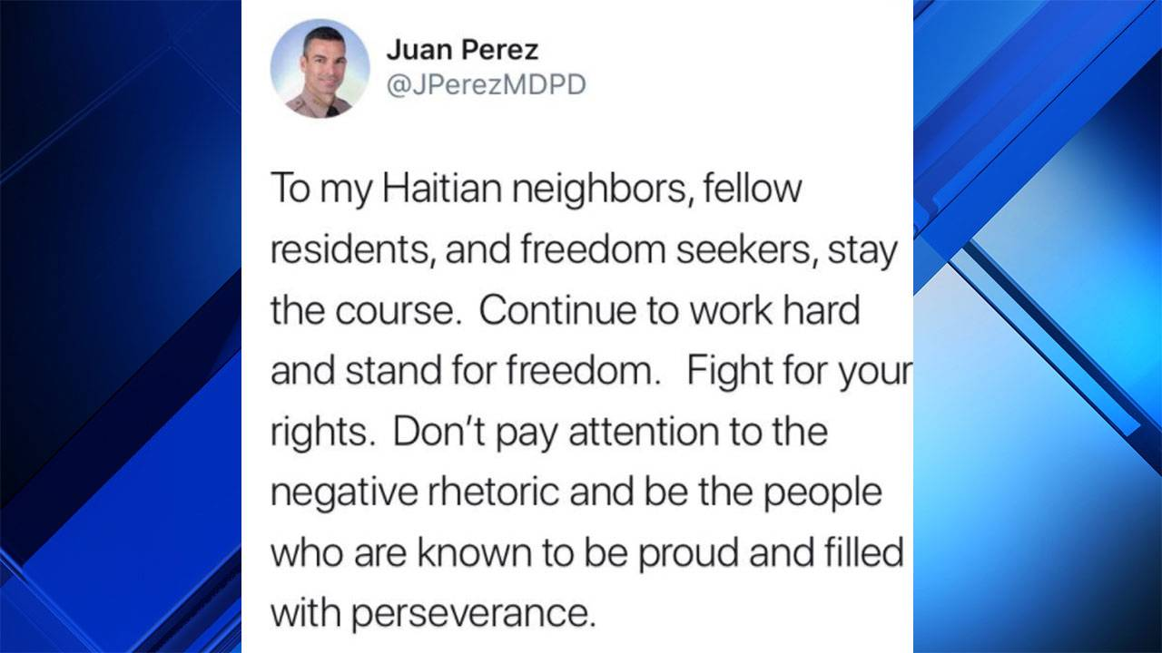 MDPD director on Haiti