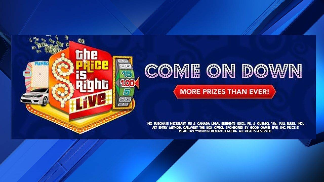 Come On Down The Price Is Right Live Is Coming To San