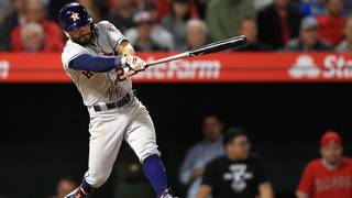 Altuve's late 3-run double propels Astros past Angels, 5-3