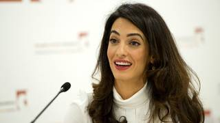 Amal Clooney appointed UK envoy on media freedom