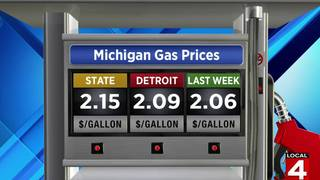 Detroit Gas Prices >> Michigan Gas Prices Rise 6 Cents